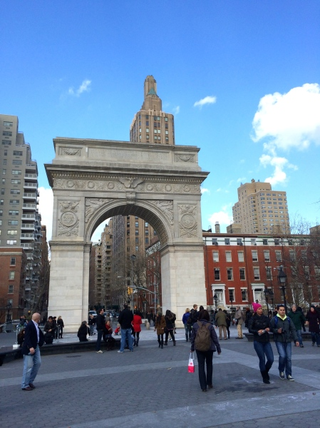 Washington Square Park (taken by me)