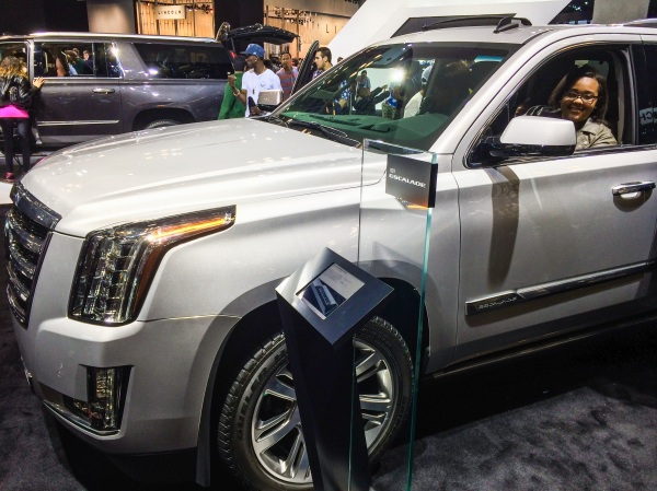 One day, this Escalade will be mine! Photo creds: Alicia.