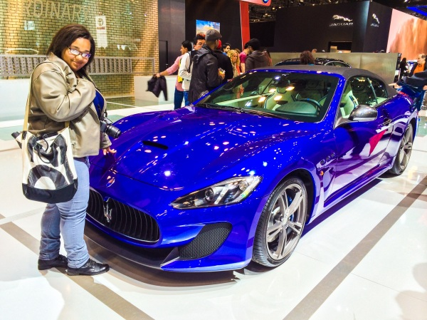 Look at this gorgeous Maserati Granturismo convertible. Photo creds: Alicia.