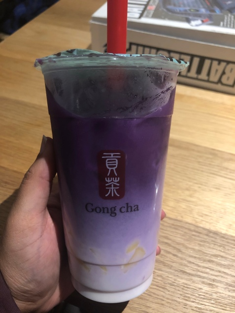 Gong Cha's Purple Sweet Potato Latte