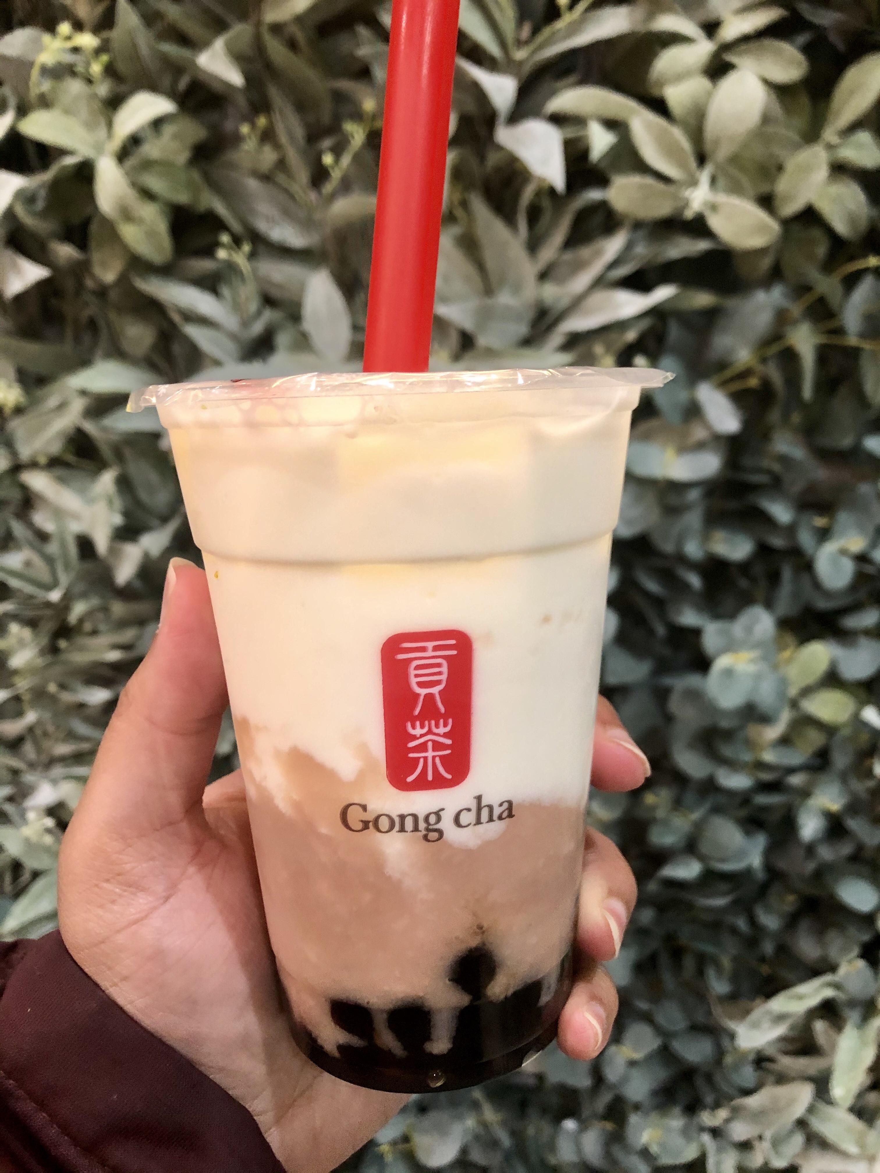 Gong Cha's Fresh Taro Milk Tea