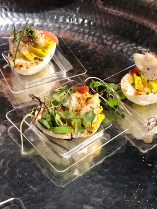 Miss Shirley's Chesapeake Deviled Eggs.