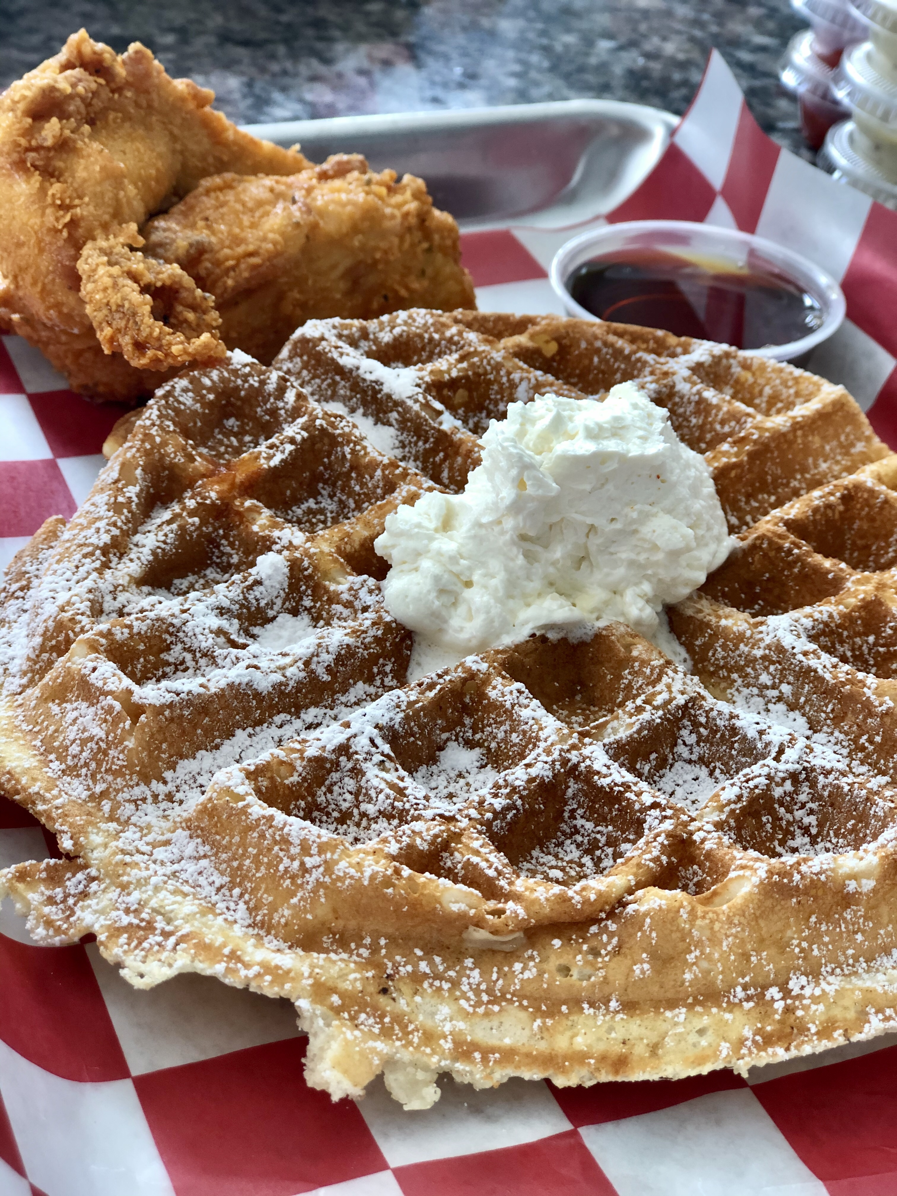 Roaming Rooster's Chicken and Waffle