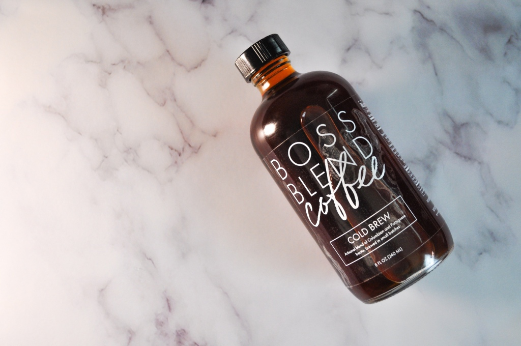 Boss Blend Coffee Co.'s cold brew coffee.